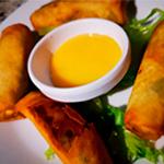 Rollitos-de-vegetales-menu-restaurante-anfiteatro-de-villa costa rica