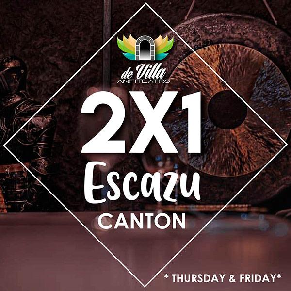 ESCAZU CANTON 2X1 De Villa Amphitheater